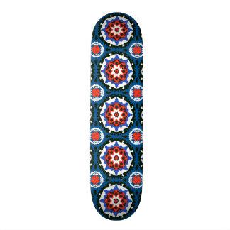 Suzani Pattern With Bold Ornament Skate Decks