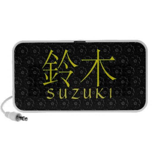 Suzuki Monogram iPod Speaker