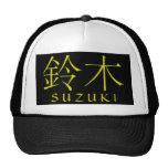 Suzuki Monogram Trucker Hat