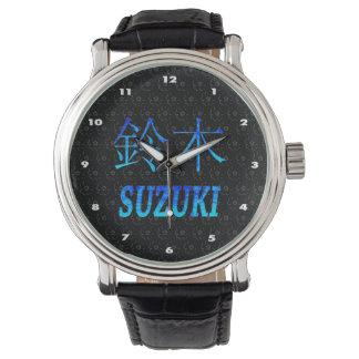 Suzuki Monogram Watch