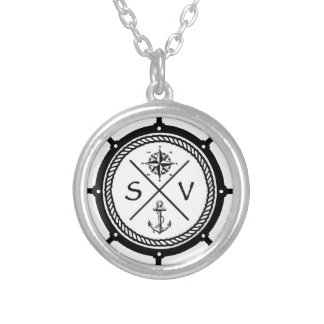 SV1 SILVER PLATED NECKLACE
