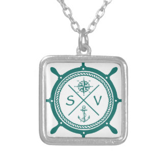 SV5 SILVER PLATED NECKLACE