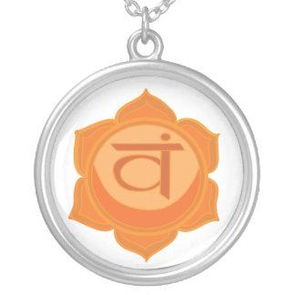 Svadhisthana Sacral Chakra Round Necklace