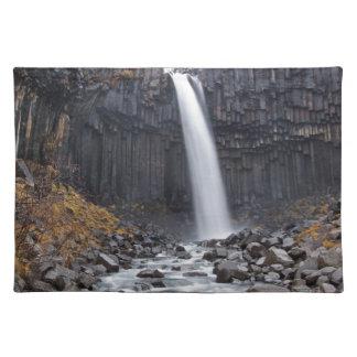Svartifoss waterfall in Iceland placemat