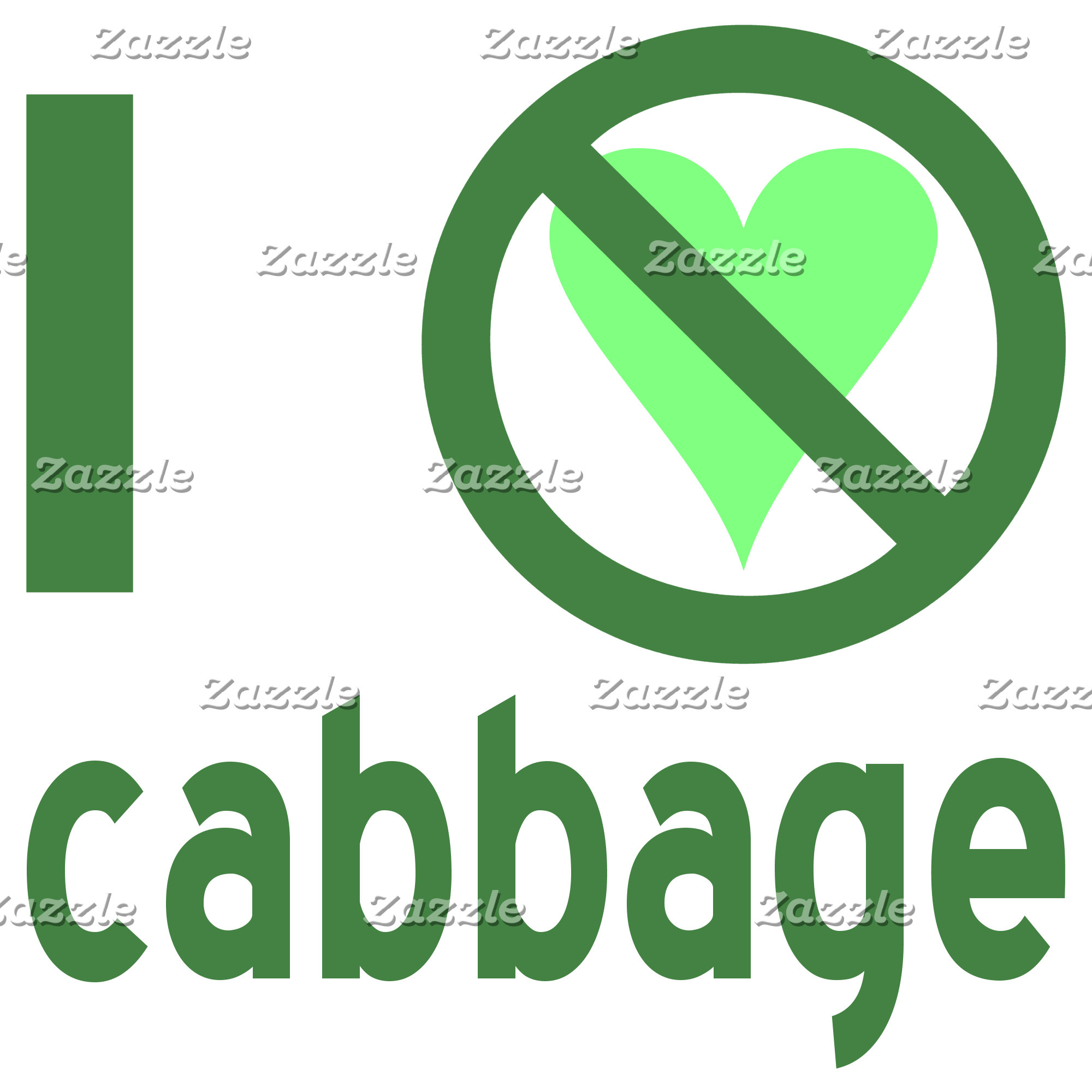 I Hate Cabbage