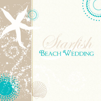 ♥ Starfish Beach Wedding