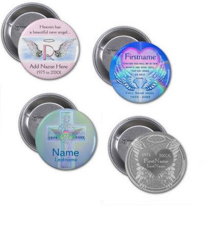 Memorial Buttons