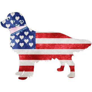 Patriotic Preppy Dog