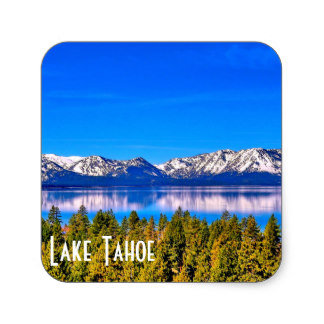 LAKE TAHOE BUMPER STICKERS
