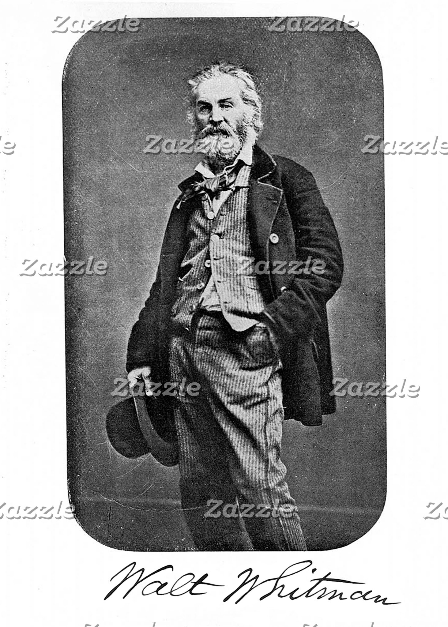 Whitman as a Young Man