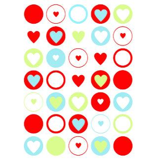 Circle Heart Pattern