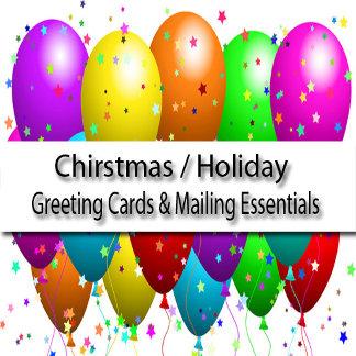 Holiday / Christmas Cards Mailing Essentials