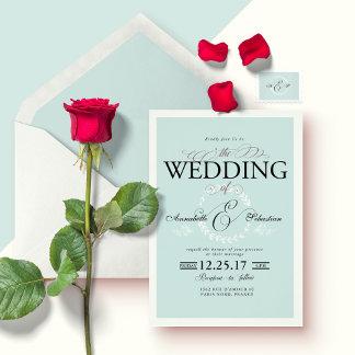 Pastel Blue Wedding