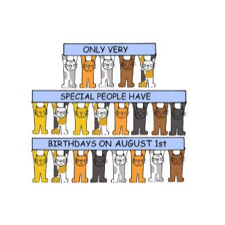 August Birthdays.