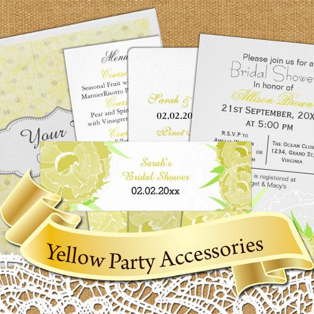 Yellow Theme Party