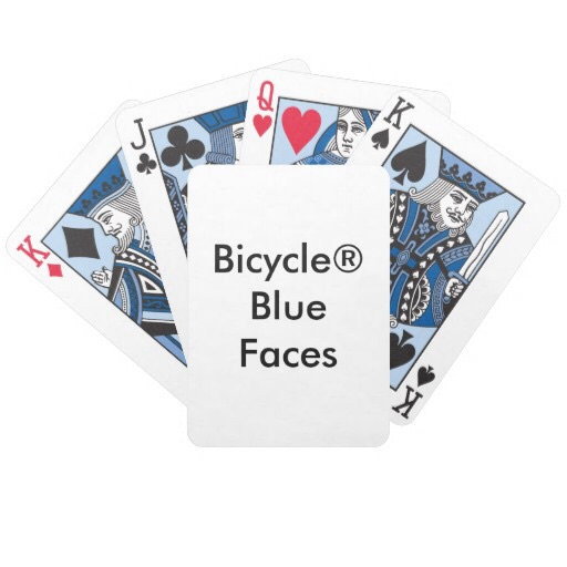 Bicycle® Blue
