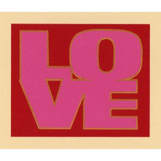 """'LOVE' lettering Poster Print"""