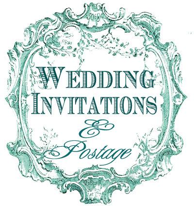Wedding Invitations,Save the Date, Wedding Postage