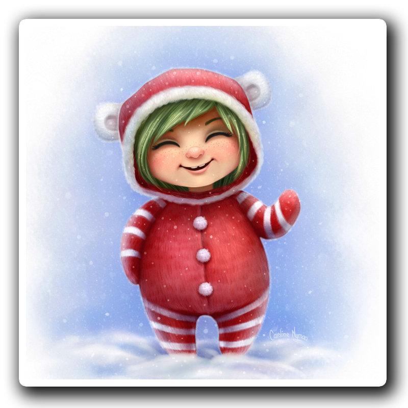 A Little Christmas Girl