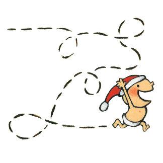 Baby Running On Christmas Morning