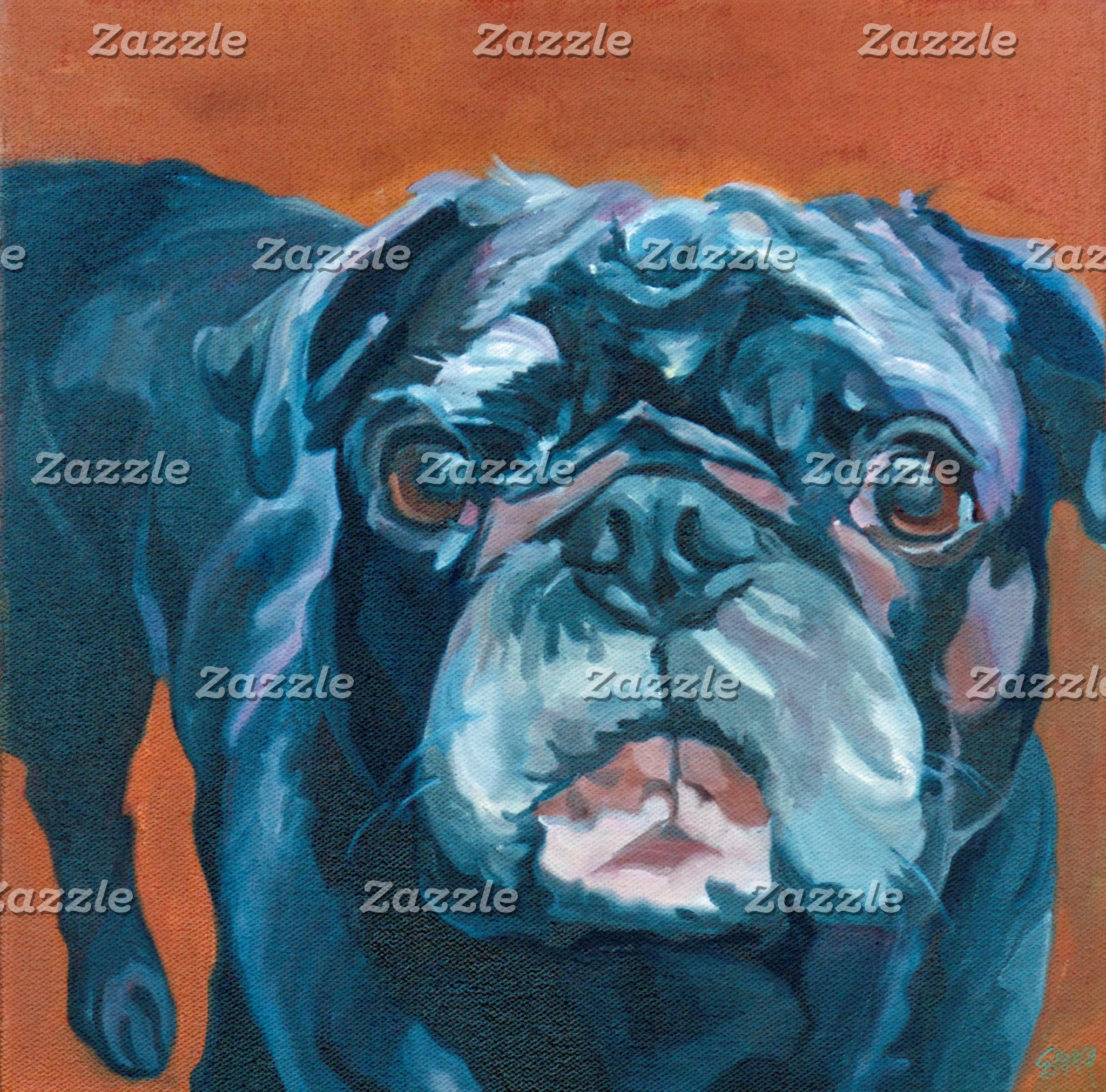 Pug Dog Art