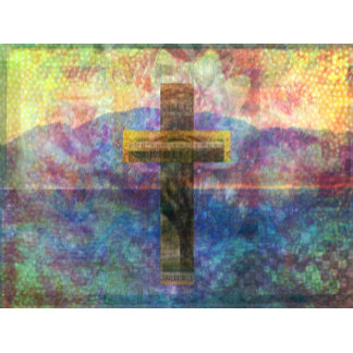 Contemporary Cross painting