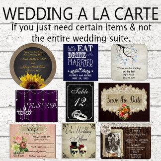 Wedding A la carte