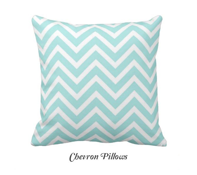 CHEVRON PILLOWS