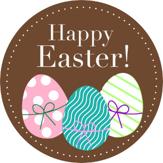 Happy Easter - Brown