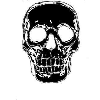 Black and White Skull