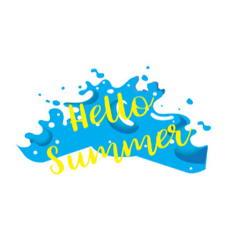 Hello Summer Graphic