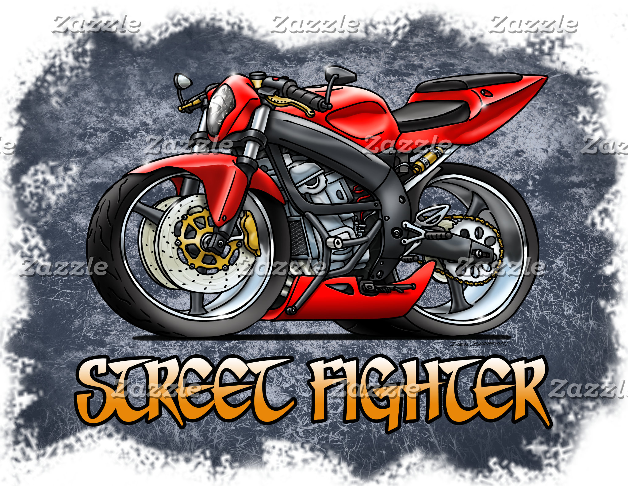 Street Fighter Motorcycle