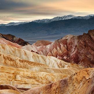 Golden Canyon at Sunset