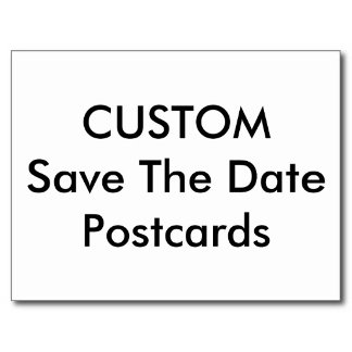 Save The Date Magnets & Postcards