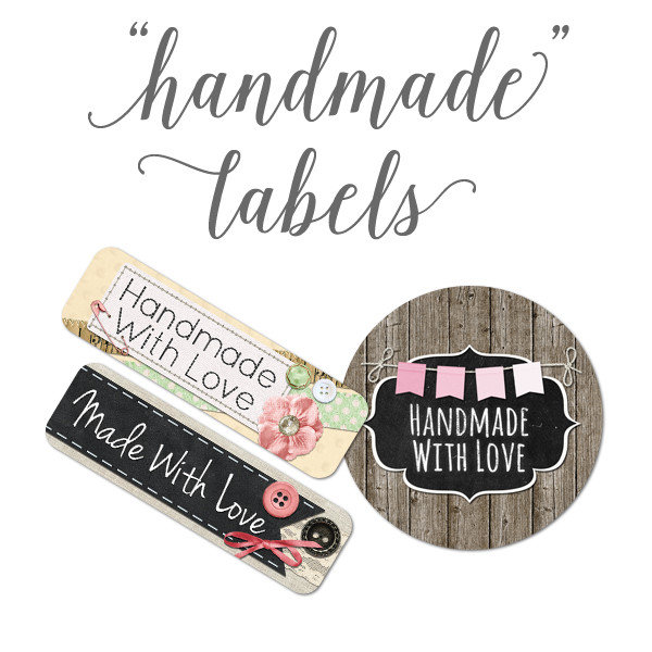 Handmade Product Labels