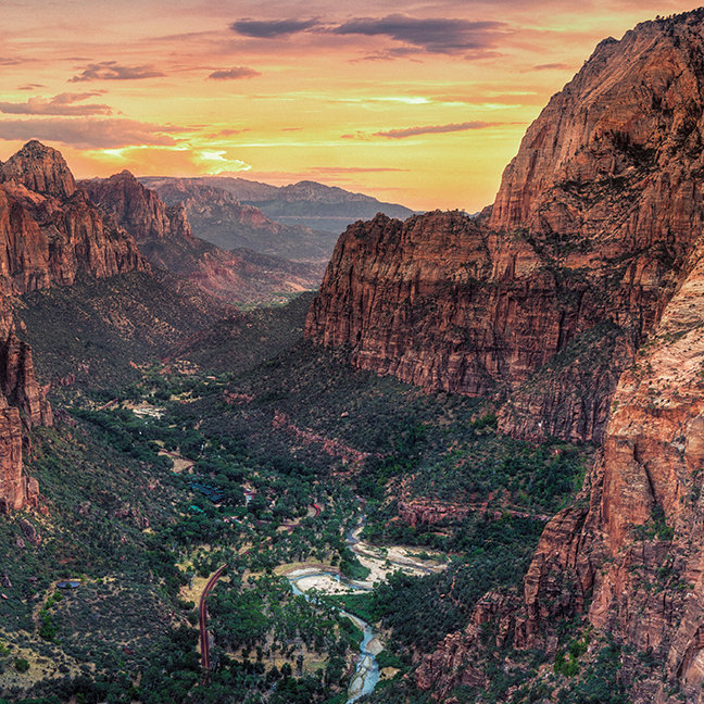 Zion Canyon National Park