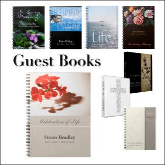 3 - Memorial Guest Books
