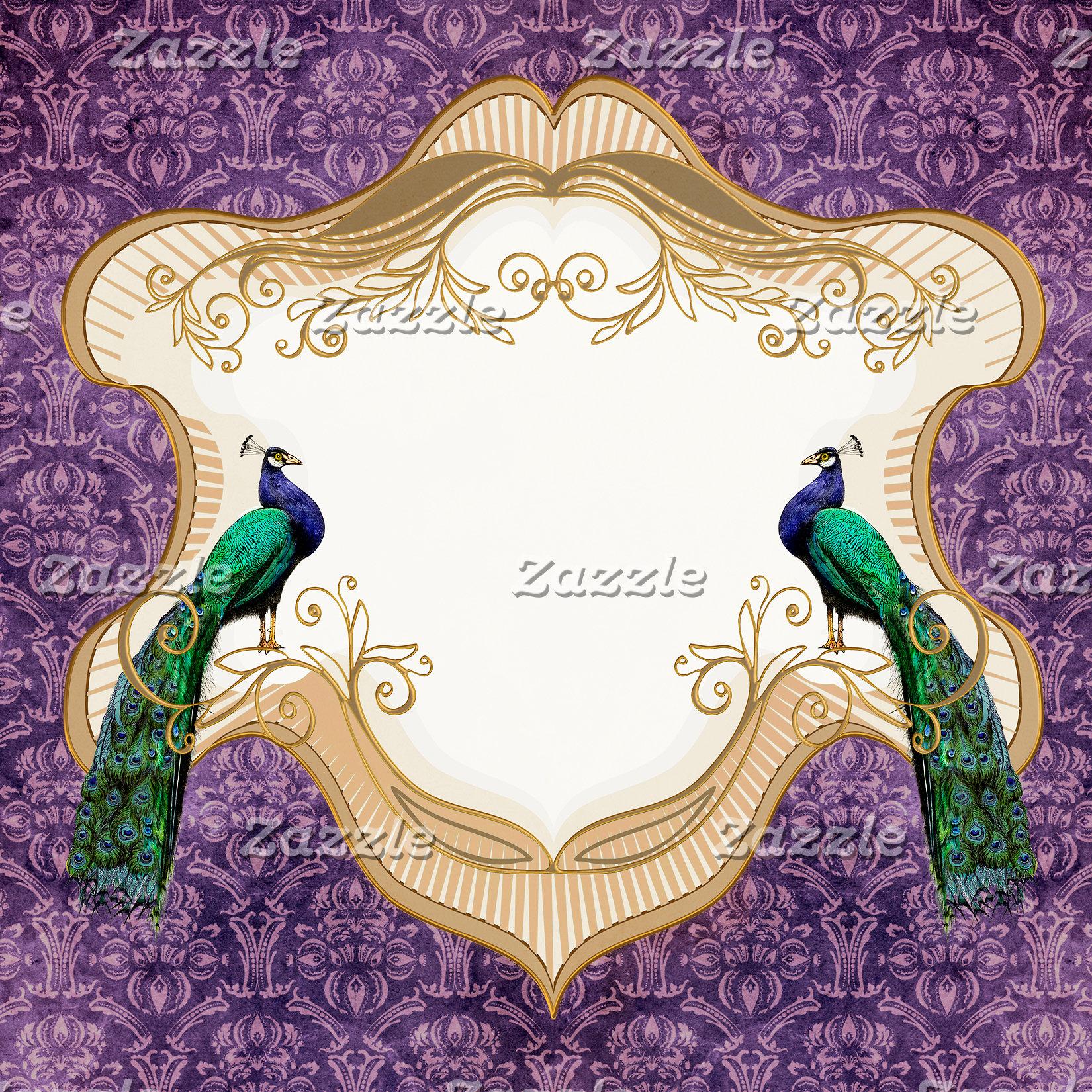 Royal Peacock-Purple