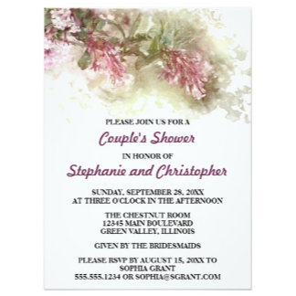 Couple's Shower Invitations