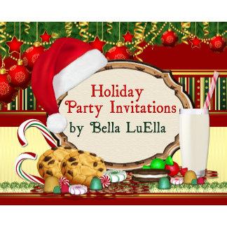 Christmas Holiday Invitations
