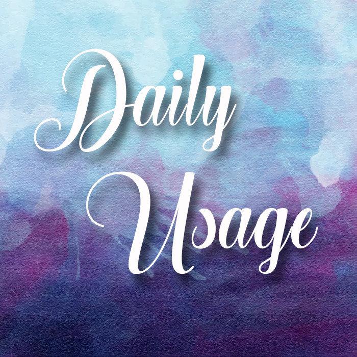 Daily Usage