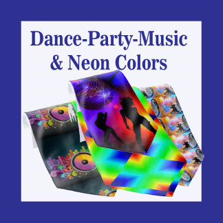 Dance   Party   Music   Neon Colors