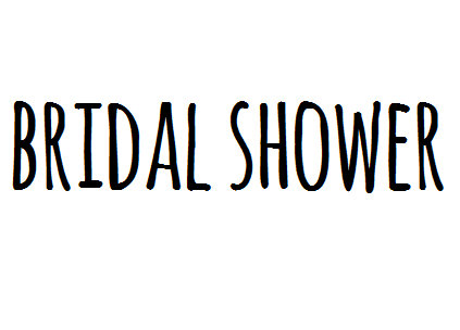 Bridal Shower