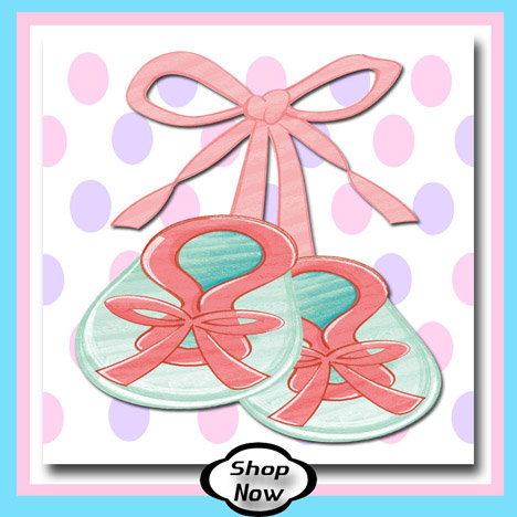 Girl Baby Booties - Baby Gifts