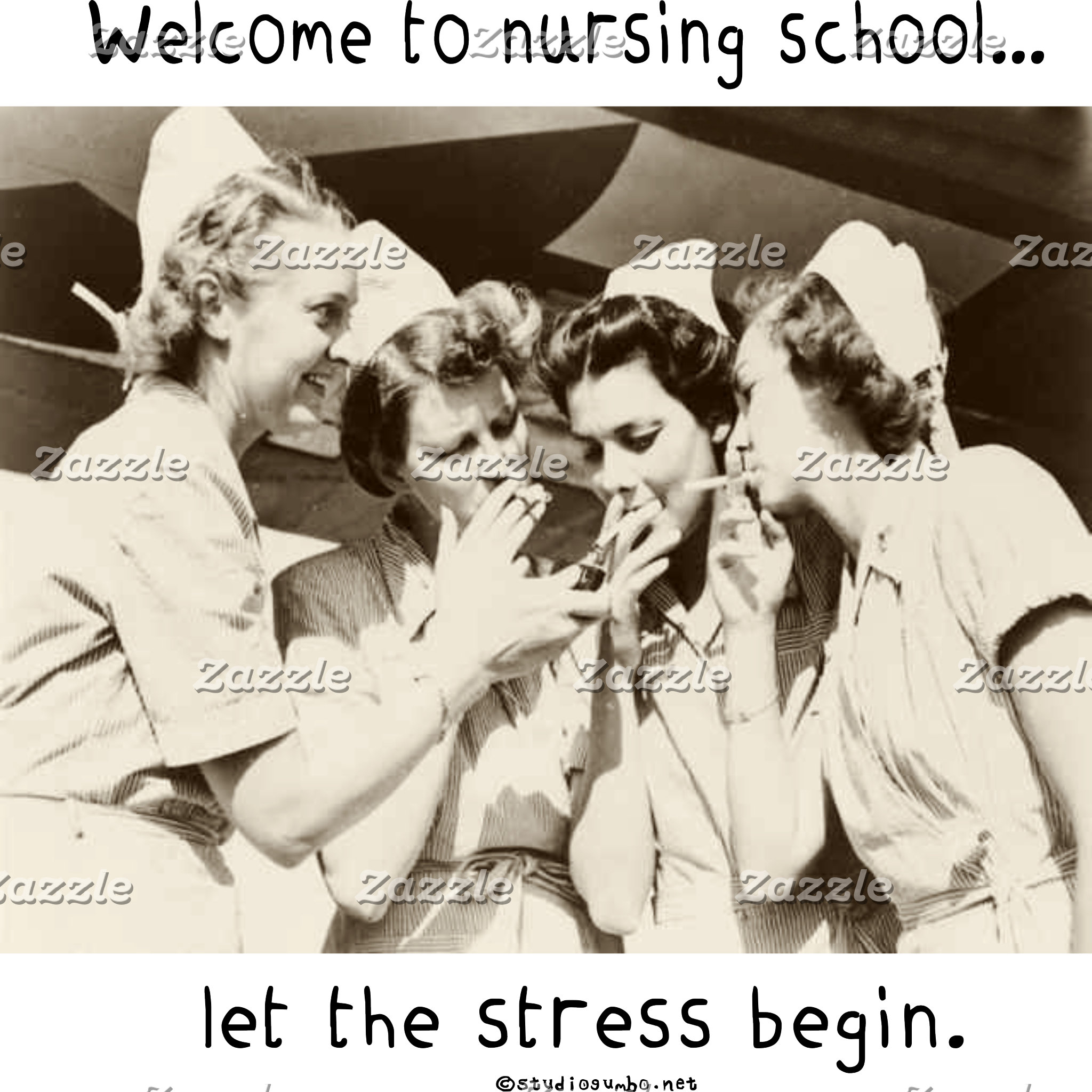 Nursing School - Let the Stress Begin