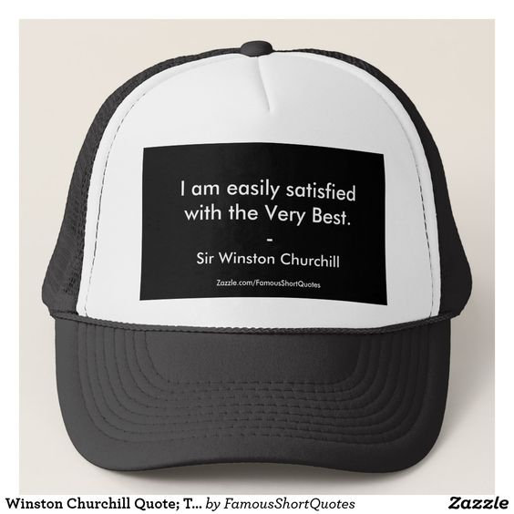 Famous Quotes Trucker Hats