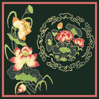 Asian Influenced Art Pillows