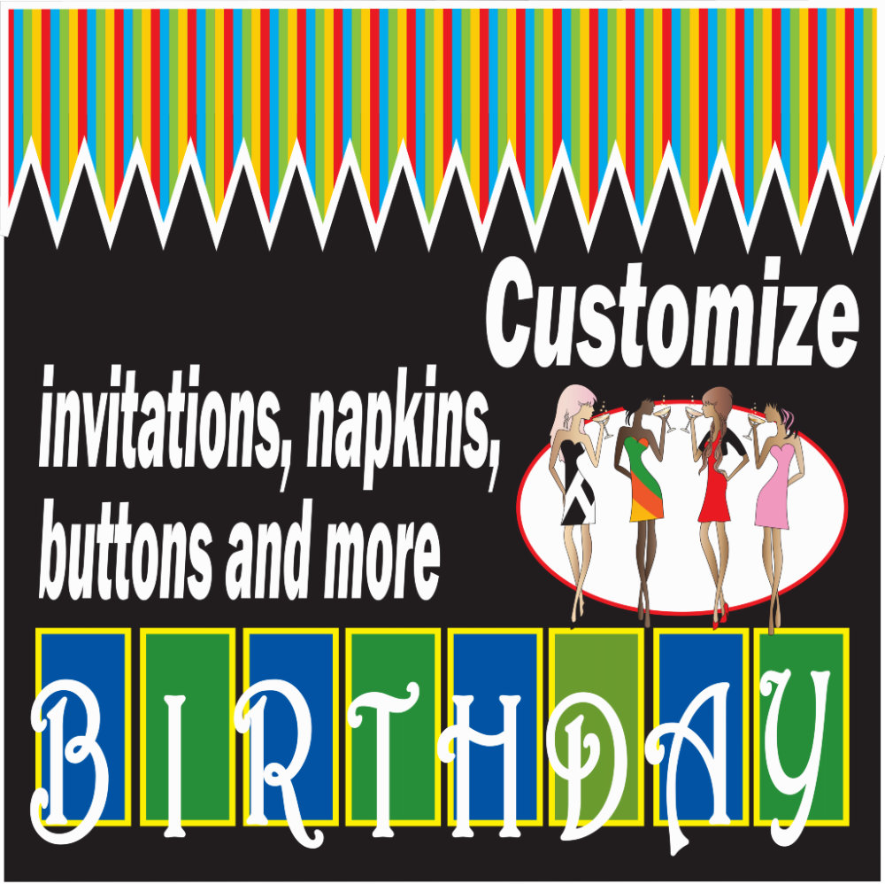 ***Customize Birthday