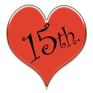 15th. Anniversary