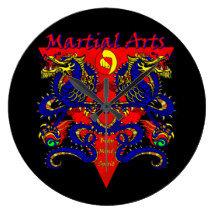 Martial Arts Clocks